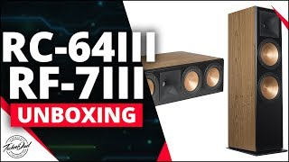Klipsch RF-7 III and RC-64 III Unboxing & RP-280F Comparison