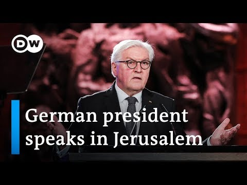 Steinmeier at Yad Vashem 39I bow in deepest sorrow for German acts39  DW News