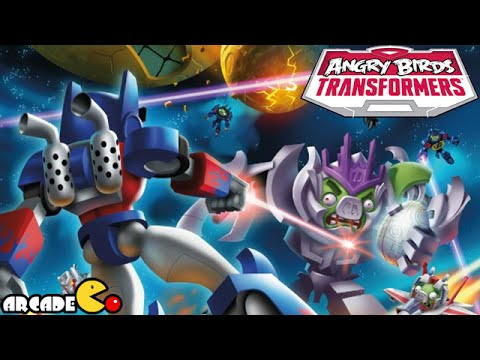 Angry Birds Transformers: Unlocked New Character Galvatron Gameplay Part 16