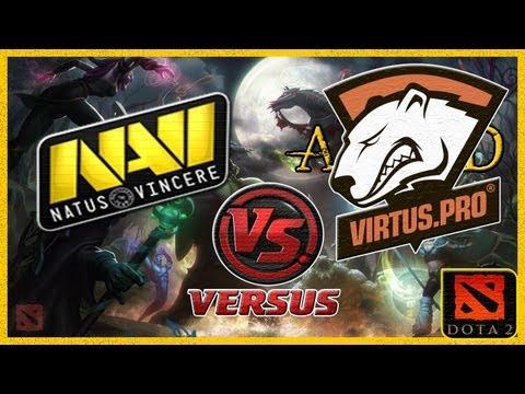 NaVi vs VIRTUS.PRO (Лучшая Игра Старладдера!) Starladder 7 Dota 2 (RUS)