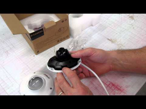 Dahua IPC-HDB3200CN 2mp IP Camera Unboxing