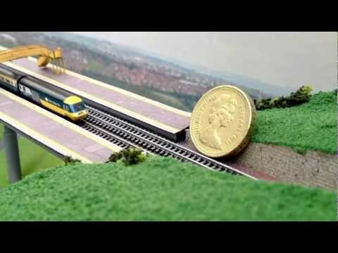 T gauge model train set