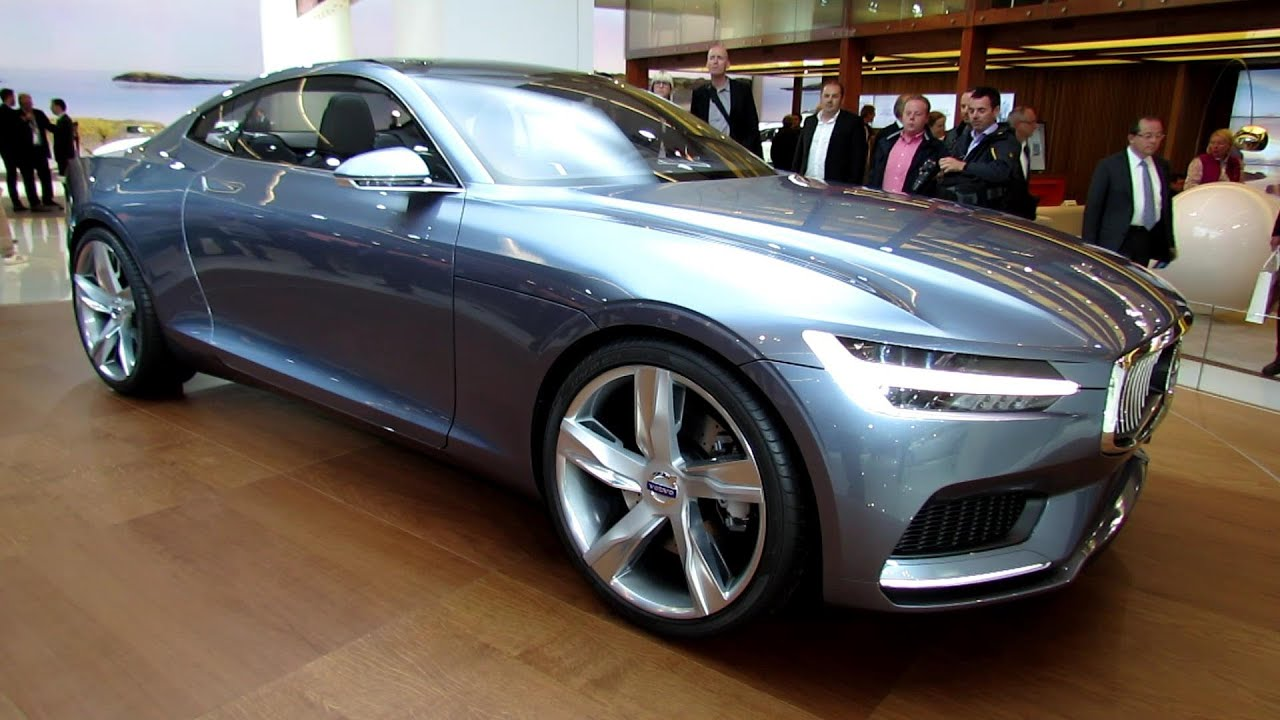 2014 volvo coupe concept exterior walkaround 2013 frankfurt motor show youtube
