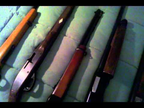 Safe #1 Shotguns and .22 cal rifles