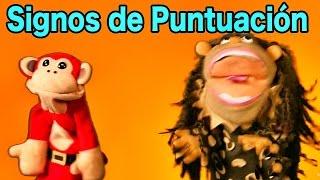 Los Signos de Puntuación Con El Mono Sílabo - Videos Educativos Para Niños