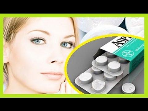 Como aclarar la piel con Aspirina 4