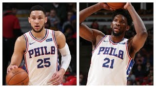 Ben Simmons (CAREER-HIGH 32 Pts) and Joel Embiid (30 Pts) Show Their Strong All-Around Game