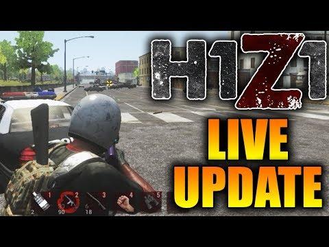 H1Z1 Pre-Season 8 Tomorrow?? Horizontal Recoil Update on LIVE H1Z1 Server!! (H1Z1 Update)
