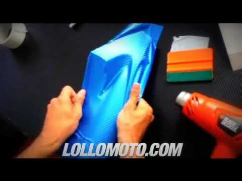 Pellicola Wrapping Moto Pellicola Adesiva Car Wrapping