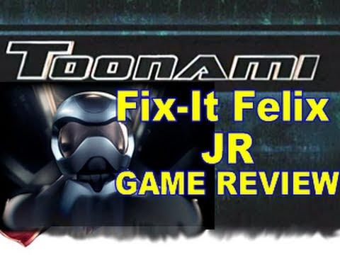 Toonami REVIEW - Fix-it Felix Jr Game (HD 1080)