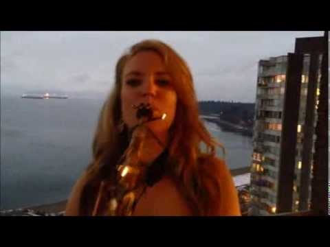 Karla Sax-last Christmas Wham Cover video