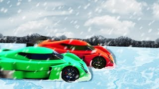 IMPOSSIBLE OFFROAD ICE RACE! - GTA 5 Funny Moments