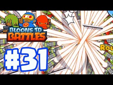 STRONGEST DEFENSE?! ALL RAY OF DOOM! | Bloons TD Battles Gameplay Part 31 (BTD Battles)