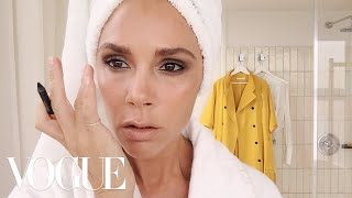 Victoria Beckham's Five-Minute Face | Beauty Secrets | Vogue