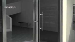 Schüco - Ingressi per elevati flussi d'utenza ADS 70 HD