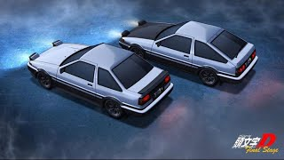 「Initial D AMV」Rick Astley - Never Gonna Give You Up (Eurobeat Remix)