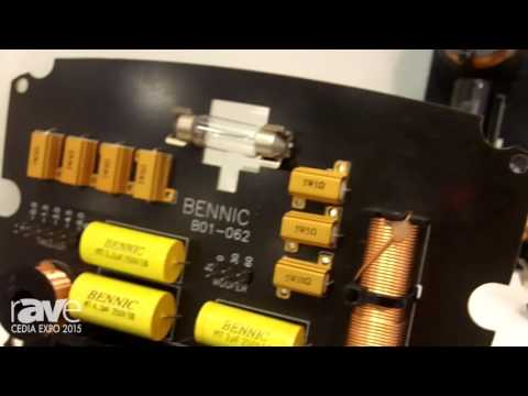 CEDIA 2015: Bennic Components Highlights Its Cross Over Network Products for Coaxial Speakers
