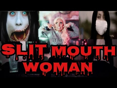 SLIT MOUTH WOMAN! | SCARY JAPANESE URBAN LEGEND!