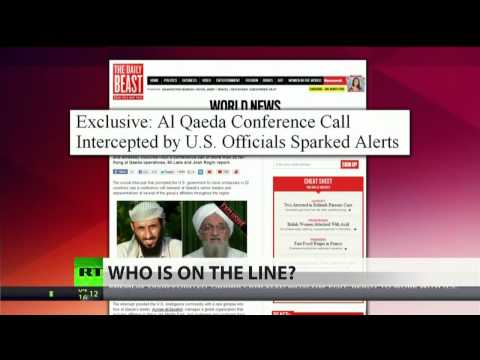 Al-Qaeda 'conference call' sparked global terror threat