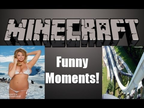 Horny Girl, Waterslide, And More! (minecraft Funny Moments Montage) video