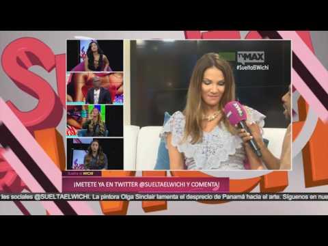 Carolina Dementiev está contenta con su busto grande