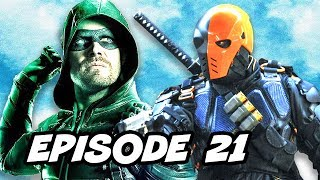 Arrow 5x21 Deathstroke Backstory TOP 10 and Comics Easter Eggs