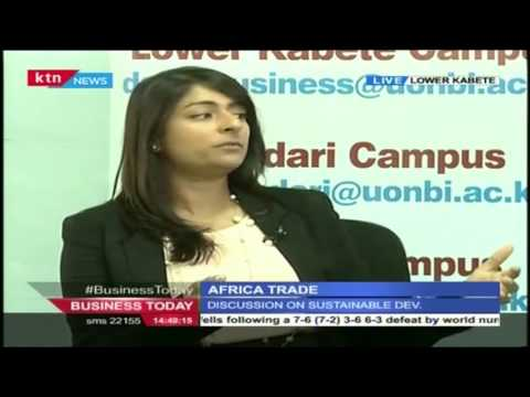 Business Today 17th March 2016 [Part 1] Africa Trade and Economics Conference