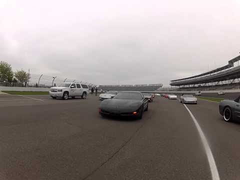 Doing Laps around the Indianapolis Motor Speedway - May 11, 2013