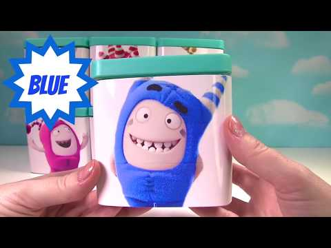 ODDBODS Surprise Toy Boxes with Fuse, Pogo, Jeff, Newt, Bubble, Slick and Zee!