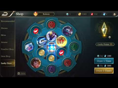 Arena of Valor get free 500 vouchers for anyone #AOVOMG #1