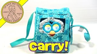 Furby Fashions Blue Sling Backpack Carrier With Head Phones, Funrise Toys