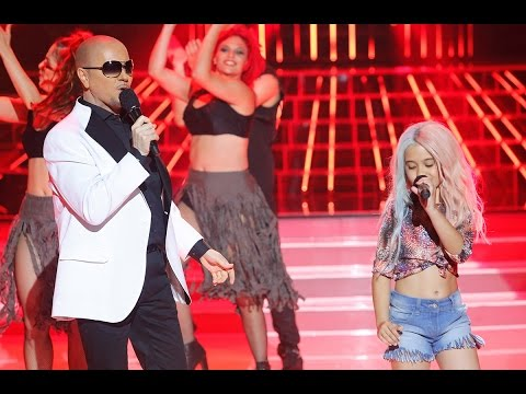 Santiago Segura y Julia imitan  Kesha y Pitbull en Tu cara me suena Mini