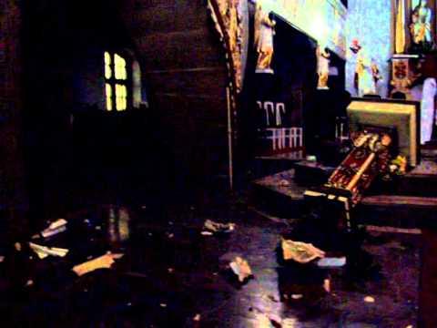 Zniszczenia W Kościele Matki Boskiej Częstochowskiej W Zielonej Górze