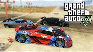 GTA 5 - Tụ tập đua xe điện tìm ra xe nhanh nhất ở sân bay | ND Gaming