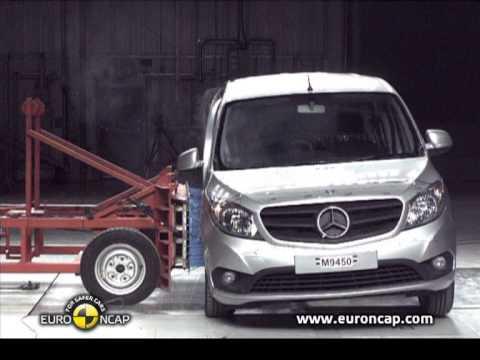 Euro NCAP | Mercedes Benz CITAN Kombi | 2013 | Краш-тест
