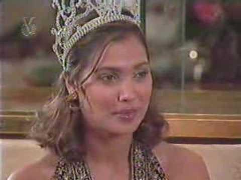 Miss Universe 2000 LARA DUTTA en Venezuela