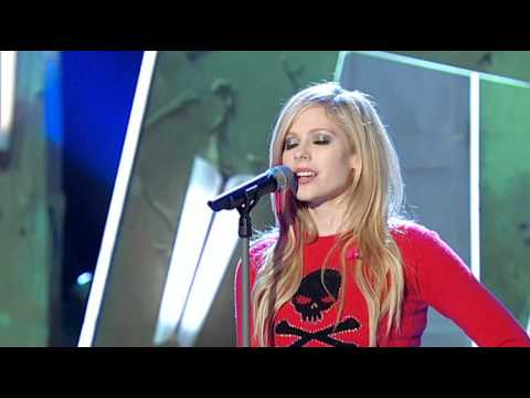 Avril Lavigne - When Youre Gone (live Wetten Dass 06-10-07) video