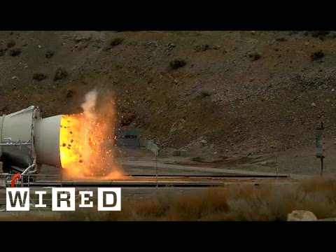 NASA's Testing Its Biggest Flame Thrower, Er, Rocket Ever | WIRED