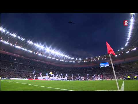 Coupe de la Ligue 13-14 Final Lyon/PSG Opening ceremony, 2 live OnBoard Cams setup