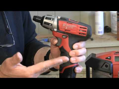 Woodworking -  Milwaukee 12 Volt Tool System Review