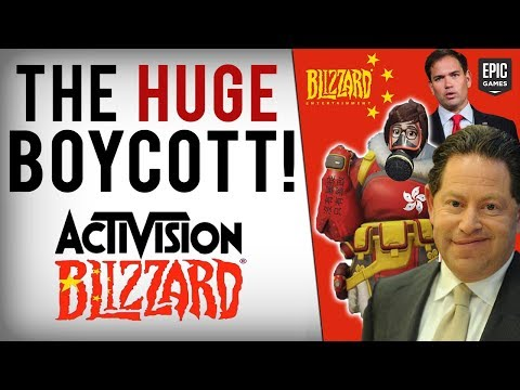 US Lawmakers SLAM Blizzard, Boycott Grows, Epic Games Diss & Gamers Use Memes To Mock Blizzard/China