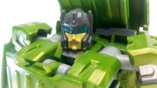 Video Review of the Transformers TW 01 Grind Rod aka Rollbar