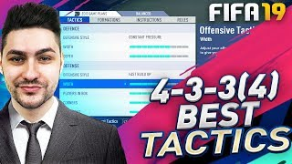 FIFA 19 BEST FORMATIONS 4-3-3 TUTORIAL - BEST CUSTOM TACTICS & INSTRUCTIONS / HOW TO PLAY 4-3-3 (4)