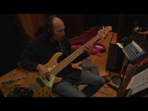 In the studio with Jeff Golub