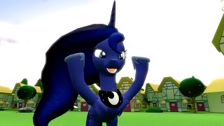 One Day with Princess Luna