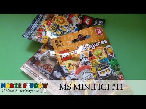 Otwieramy Minifigures series 8. 9 lub 10 (Morze Studów #11)