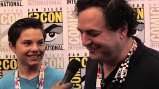Geeking Out: Comic Con Interview w/Steven Universe Zach Callison & Tom Scharpling