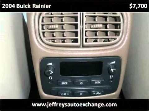 2004 Buick Rainier Used Cars Scottsburg IN