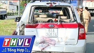 THVL | Tai nạn giao thông trên tuyến Quốc lộ 1 gây ùn tắc giao thông