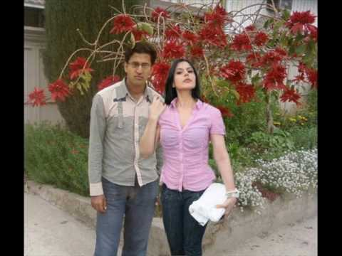 Zarine Khan with Fiancé